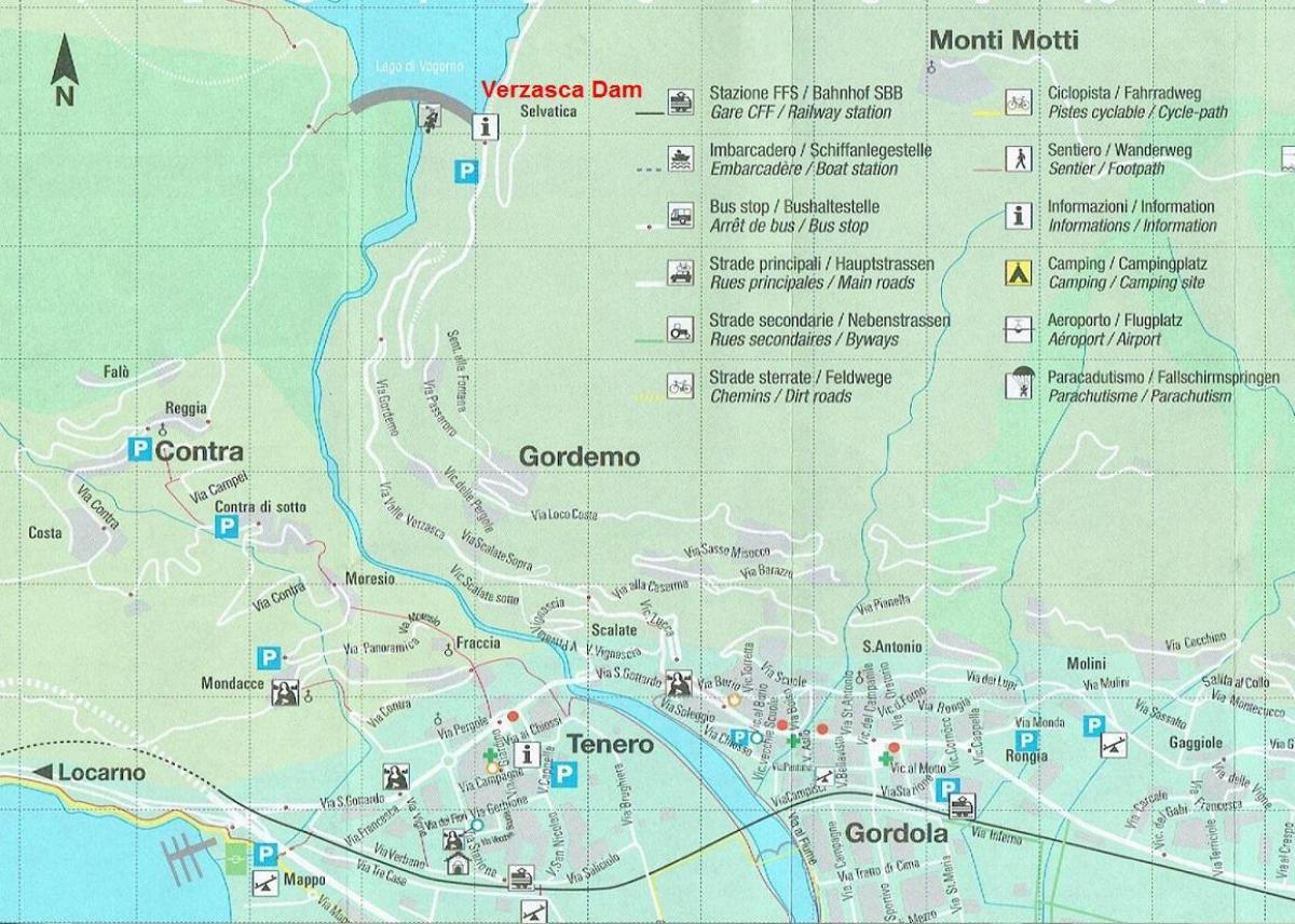 Camping Karta Europa.Camping Schweiz Karta Karta Over Campingen Schweiz Vastra Europa
